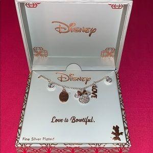 Love is beautiful Disney necklace